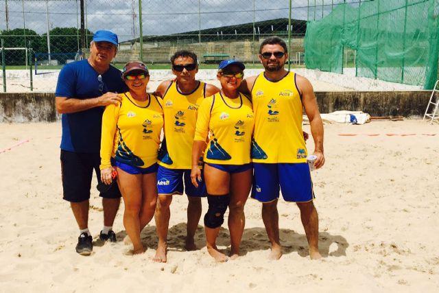 A equipe que jogou hoje pela manhã no Sesi perdeu para a equipe de Minas  Gerais por 1 X 0. Saudamos nossos atletas Susane 86445b0b3e8dd