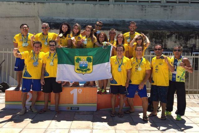 Ao todo nossos atletas conquistaram 105 medalhas. São 36 de ouro c47a4300994e8